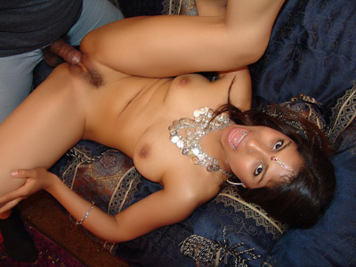 Indian Babe With a Bushy Snatch